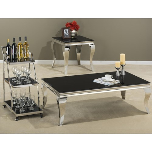 Jofran Tuxedo Occasional Table Group