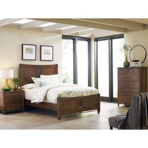 Kincaid Furniture Bedford Park Bedroom Group