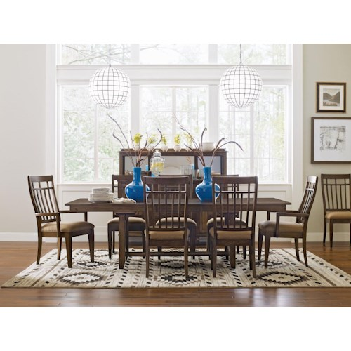 Kincaid Furniture Bedford Park Formal Dining Room Group
