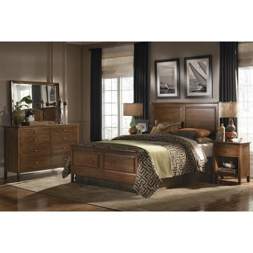 Kincaid Furniture Cherry Park California King Bedroom Group