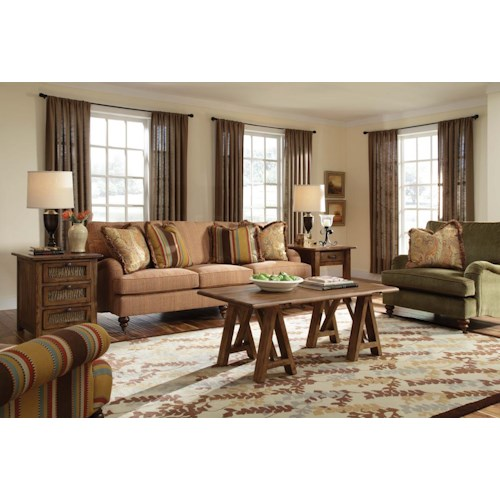 Kincaid Furniture Greenwich Stationary Living Room Group