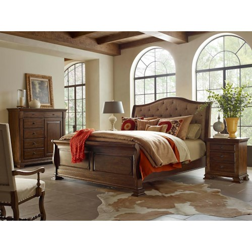 Kincaid Furniture Portolone Cali King Bedroom Group