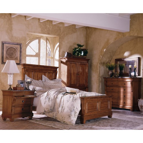 Kincaid Furniture Tuscano King Bedroom Group
