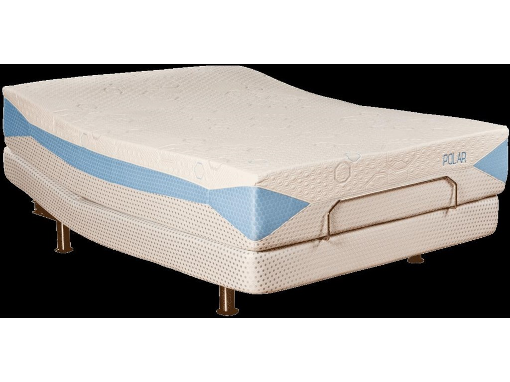 Shown with BodyMotion Adjustable Base - Mattress Shown May Not Represent Exact Model Indicated
