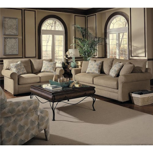 Elliston Place Comfy Stationary Living Room Group