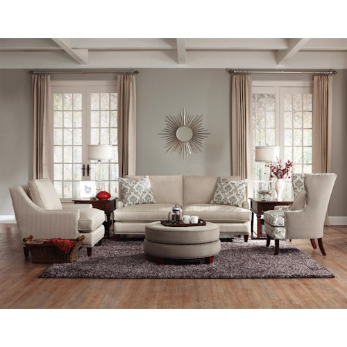 Klaussner Duchess Stationary Living Room Group