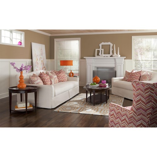 Klaussner Lindsey Stationary Living Room Group
