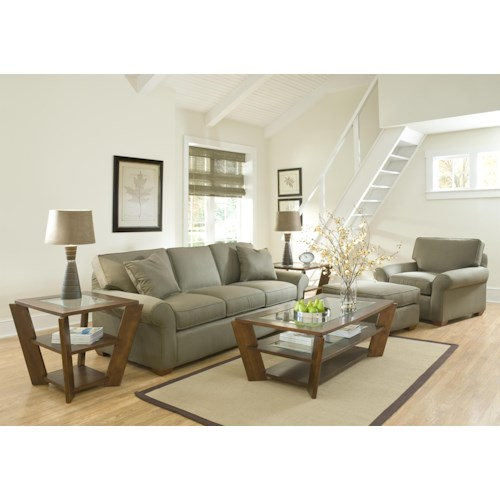 Elliston Place Patterns Stationary Living Room Group