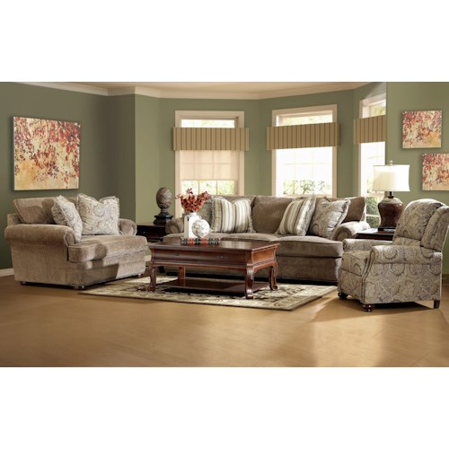 Elliston Place Tolbert Stationary Living Room Group