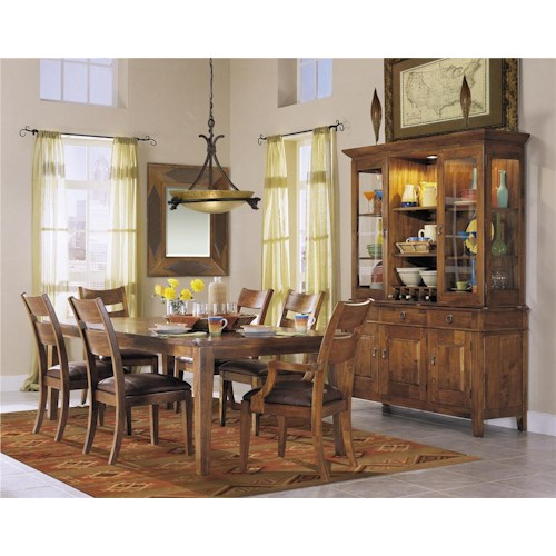 Morris Home Furnishings Tuscon Formal Dining Room Group