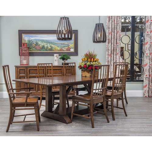 Easton Collection Blue Ridge Formal Dining Room Group