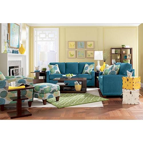 La-Z-Boy Kennedy Stationary Living Room Group