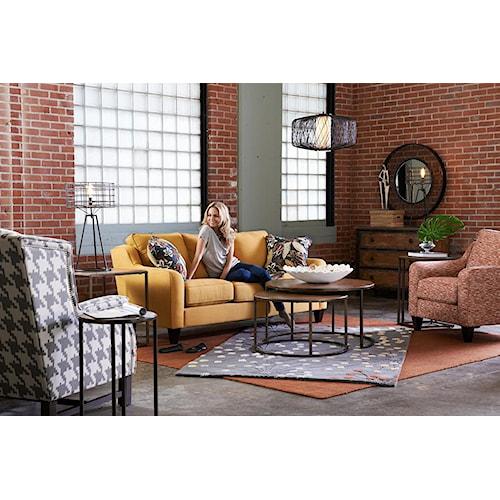 La-Z-Boy Talbot Stationary Living Room Group