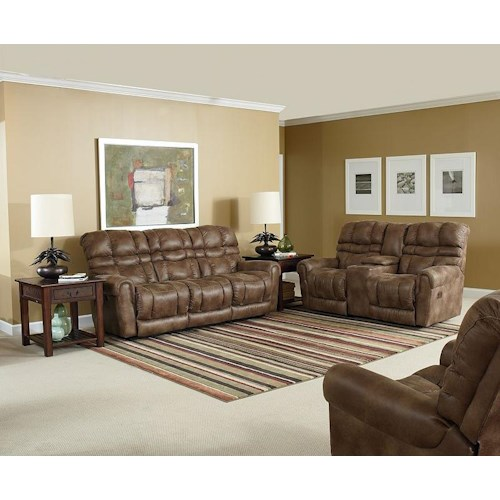 Lane Trenton Reclining Living Room Group