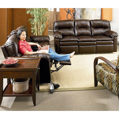 Lane Express Touchdown  Reclining Living Room Group