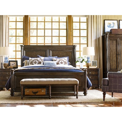 Legacy Classic Barrington Farm King Bedroom Group