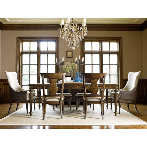 Legacy Classic Barrington Farm Formal Dining Room Group