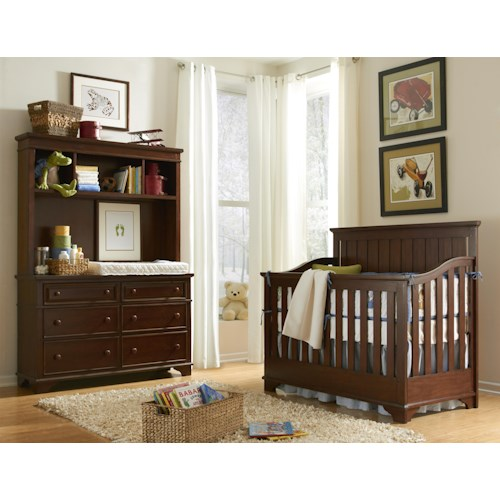 Legacy Classic Kids Dawson's Ridge Crib Bedroom Group