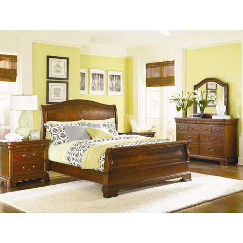 Legacy Classic Evolution King Bedroom Group