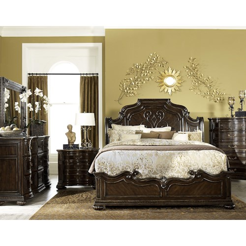 Legacy Classic La Bella Vita California King Bedroom Group