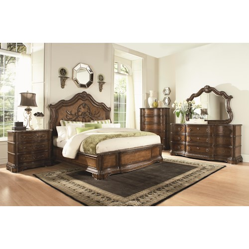 Legacy Classic Pemberleigh Queen Bedroom Group