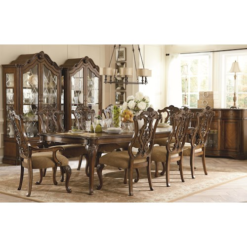Legacy Classic Pemberleigh Formal Dining Room Group