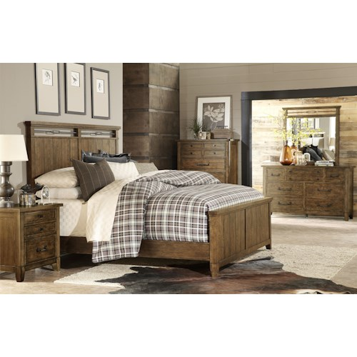 Legacy Classic River Run King Bedroom Group