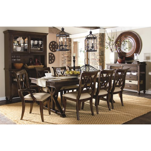 Legacy Classic Thatcher Formal Dining Room Group