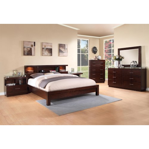 Legends Furniture Novella Queen Bedroom Group