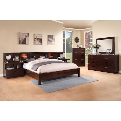Legends Furniture Novella King Bedroom Group