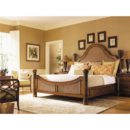 Tommy Bahama Home Island Estate California King Bedroom Group