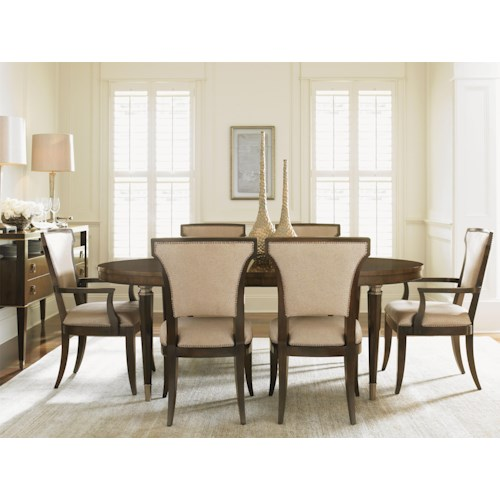 Lexington Tower Place 8 Piece Formal Dining Room Group