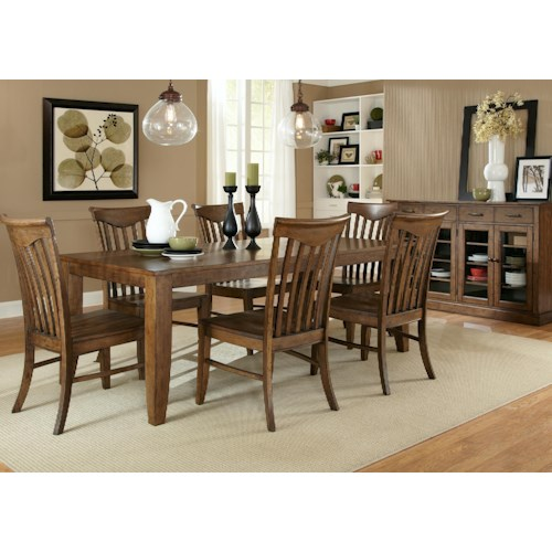 Liberty Furniture Arbor Hills Formal Dining Room Group