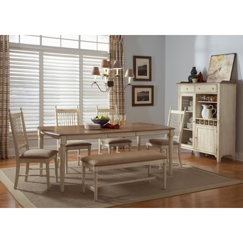 Liberty Furniture Cottage Cove Casual Dining Room Group