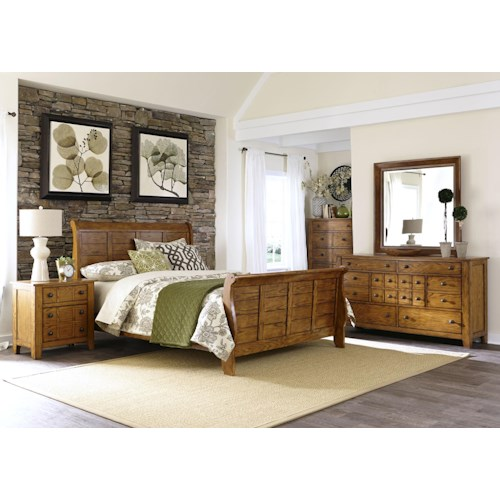 Liberty Furniture Grandpa's Cabin King Bedroom Group