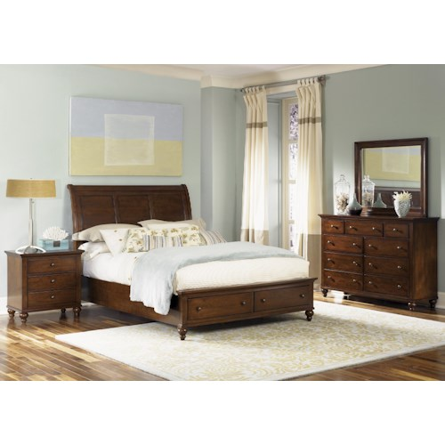 Liberty Furniture Hamilton  King Bedroom Group