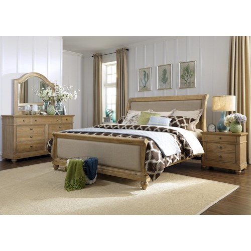 Vendor 5349 Harbor View King Sleigh Bedroom Group