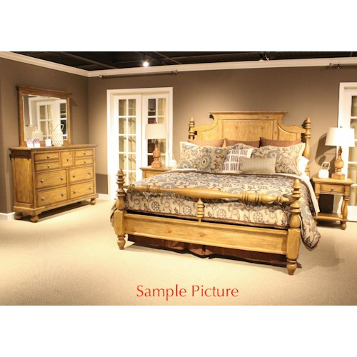 Vendor 5349 High Country Queen Bedroom Group