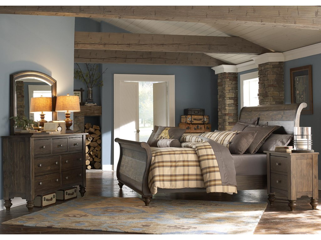 King Bedroom Liberty Furniture Southern Pines King Bedroom Group Hudsons