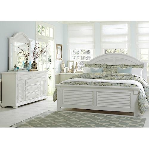 Vendor 5349 Summer House Queen Bedroom Group