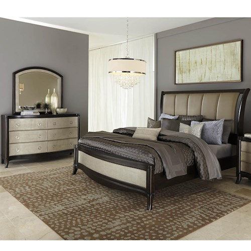 Liberty Furniture Sunset Boulevard Queen Bedroom Group 1