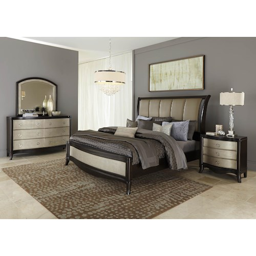 Liberty Furniture Sunset Boulevard King Bedroom Group 2