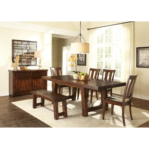 Liberty Furniture Tahoe Dining Room Group 1