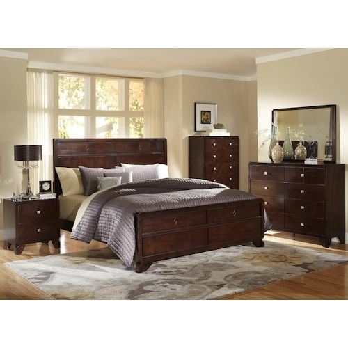 Lifestyle Potbar Queen Bedroom Group