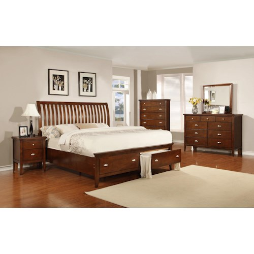 Lifestyle 4130A Full Bedroom Group