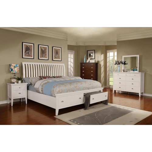 Lifestyle 4135A California King Bedroom Group