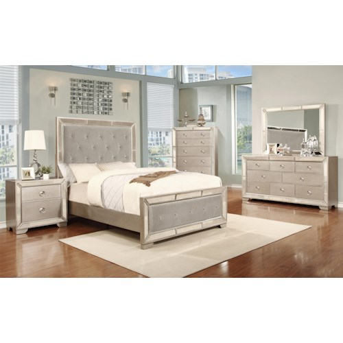 Lifestyle 5219A King Bedroom Group