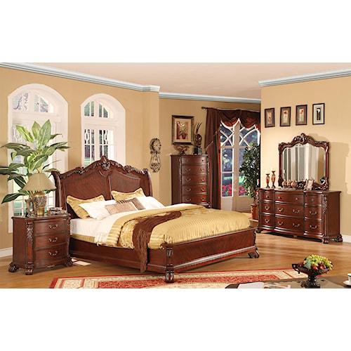 Lifestyle 9642 Queen Bedroom Group