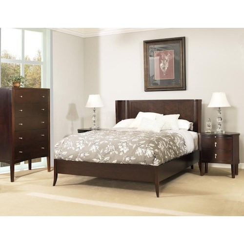 Ligna Furniture Port Queen Bedroom Group