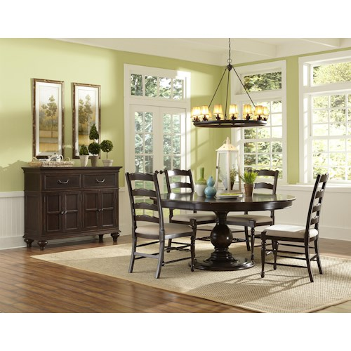 Magnussen Home  Loren Casual Dining Room Group